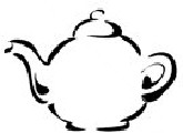 Teapot for China patterns